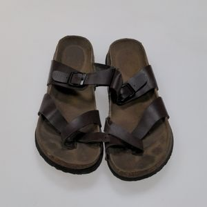 Brown Sandals Size 39